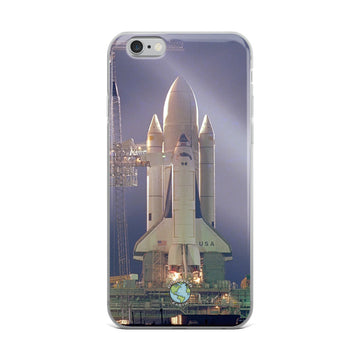 Space Shuttle at Night iPhone Case