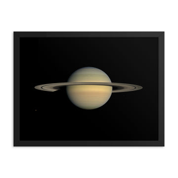 Planet Saturn - Framed Print