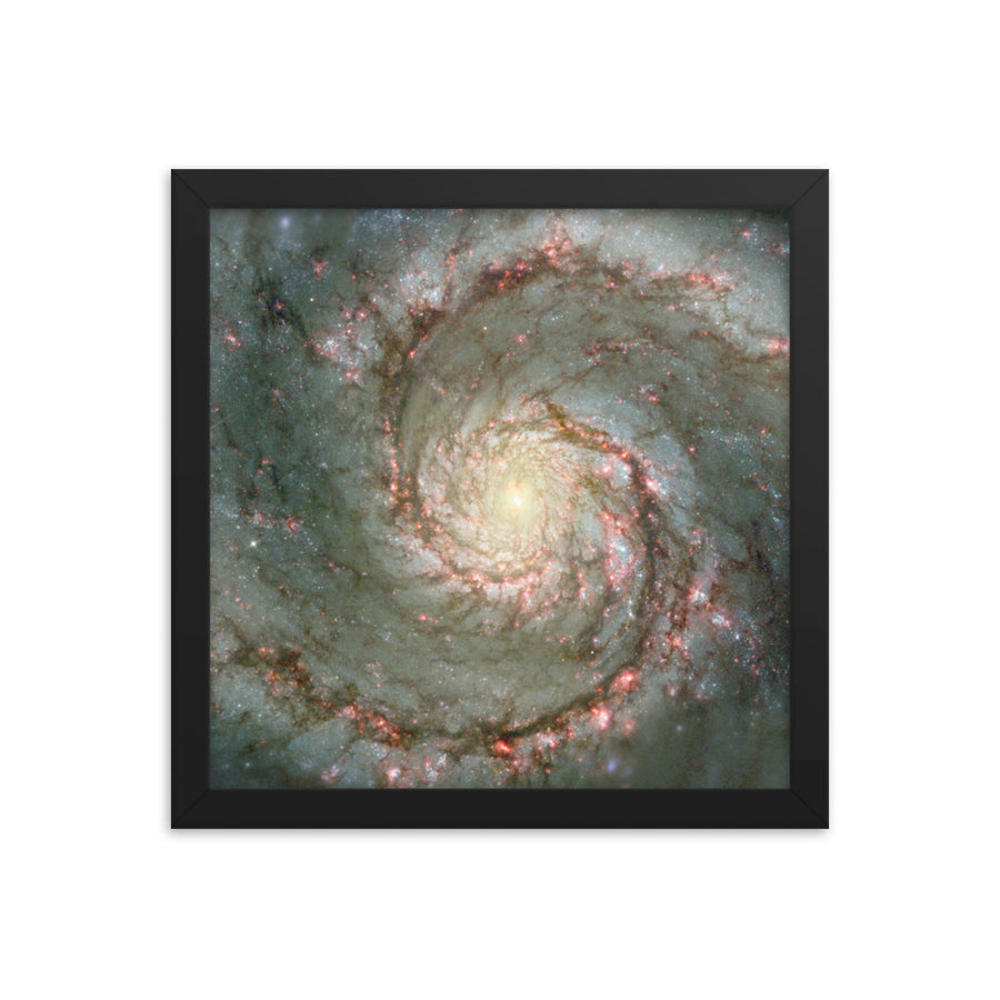 Whirlpool Galaxy M51 - Framed Print