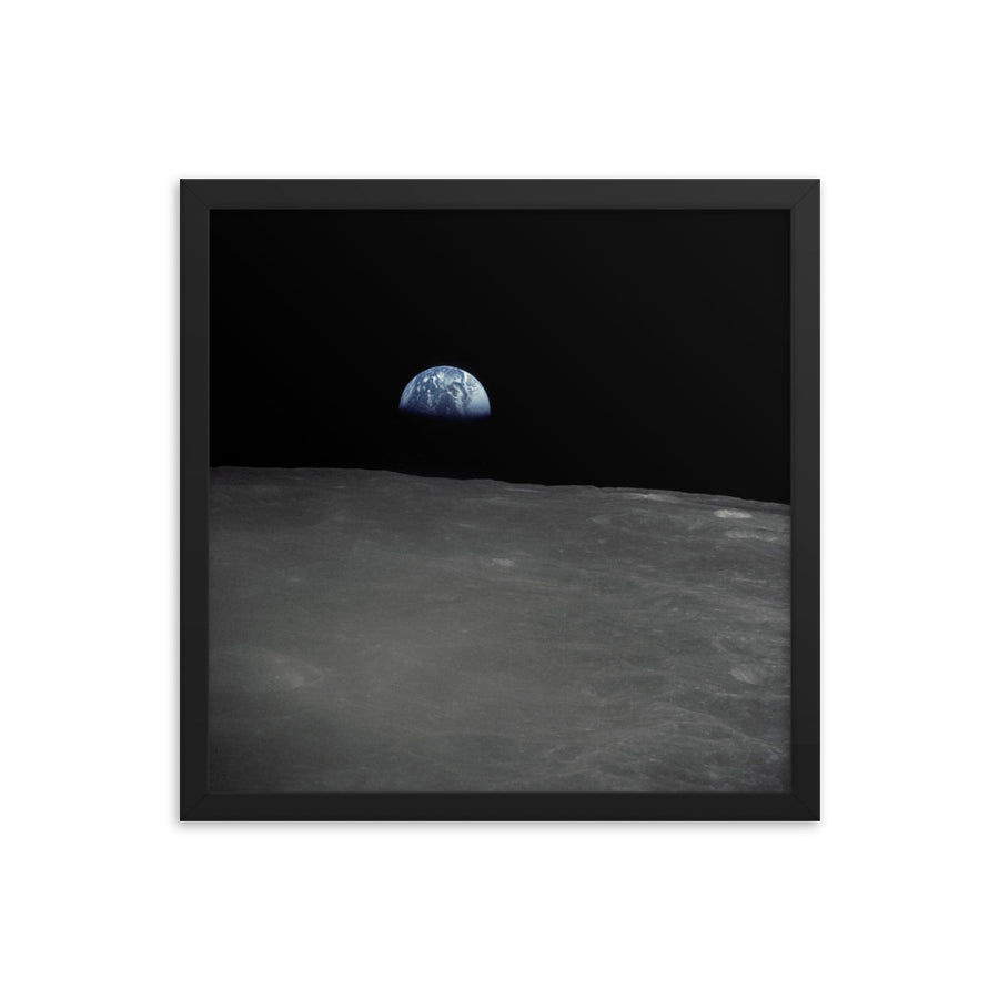 Apollo 16 Earthrise Framed Poster