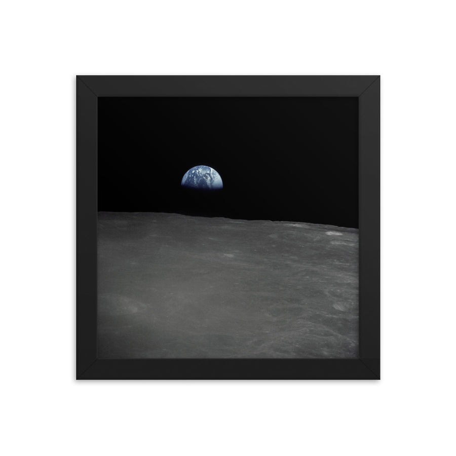 Apollo 16 Earthrise - Framed Print