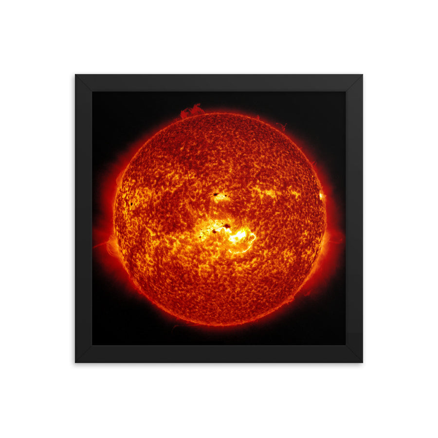 The Sun - Framed Print
