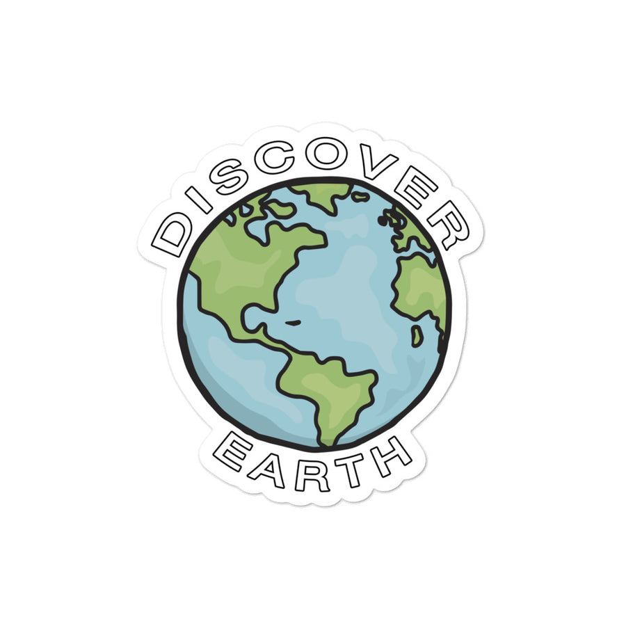 Discover Earth Stickers