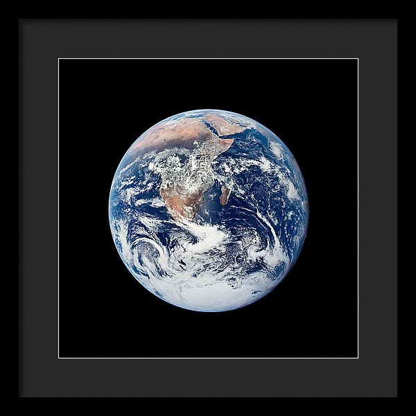 Our Pale Blue Dot - Framed Print