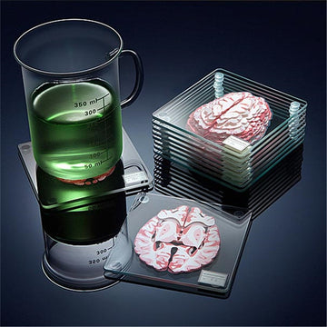 Brain Coasters Set