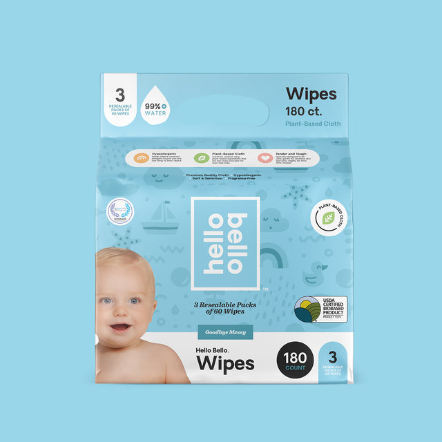 Plant-Based Baby Wipes