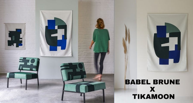 Collaboration Babel Brune x Tikamoon