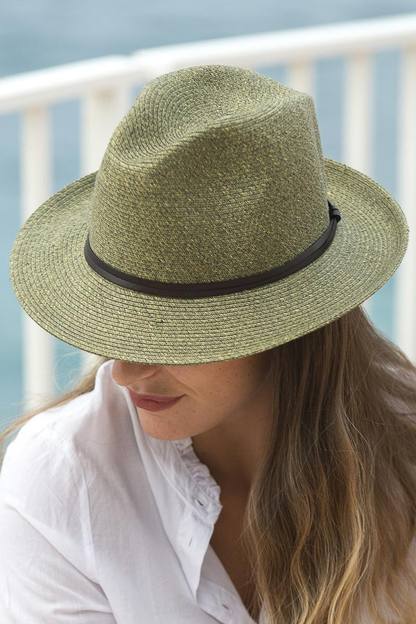 Foldable Borsolino Hat, Army