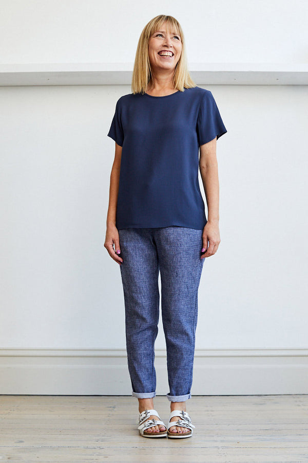 Anneka Top, Navy