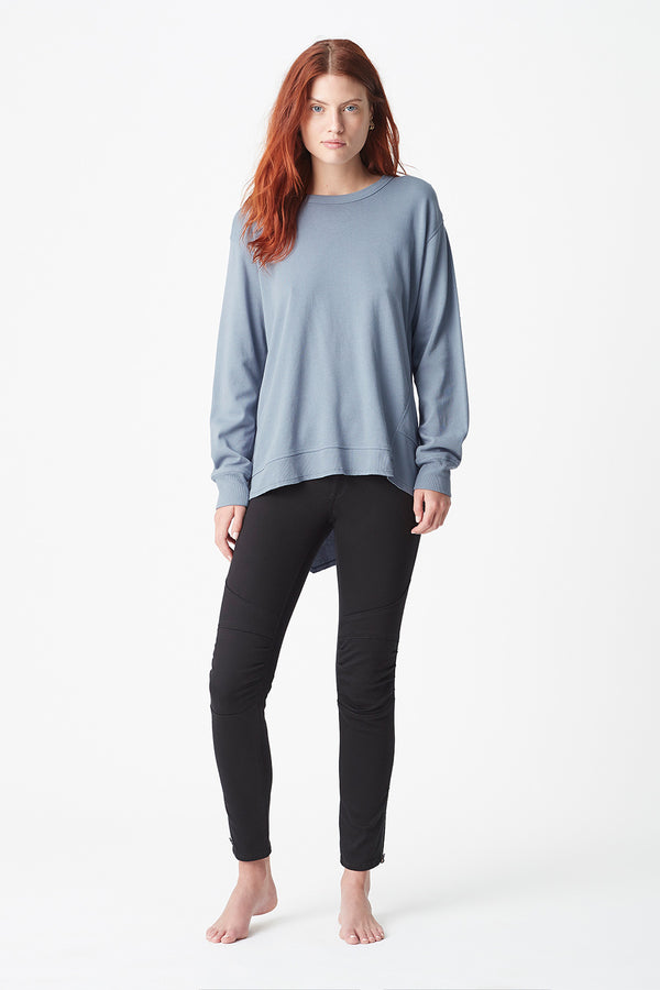 Dylan Sweat Top, Slate