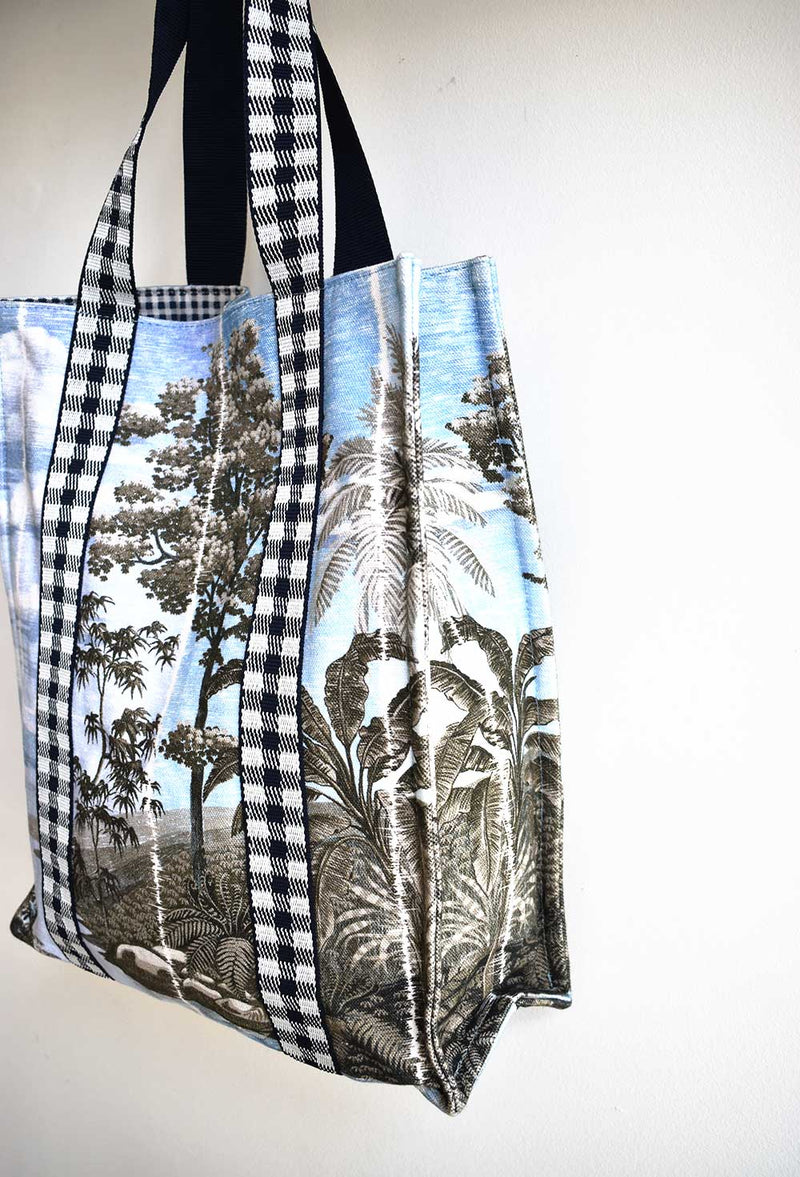 Mayotte Printed Tote Bag