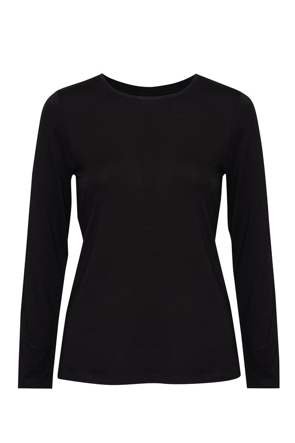 Jones Bamboo Crew Neck, Black