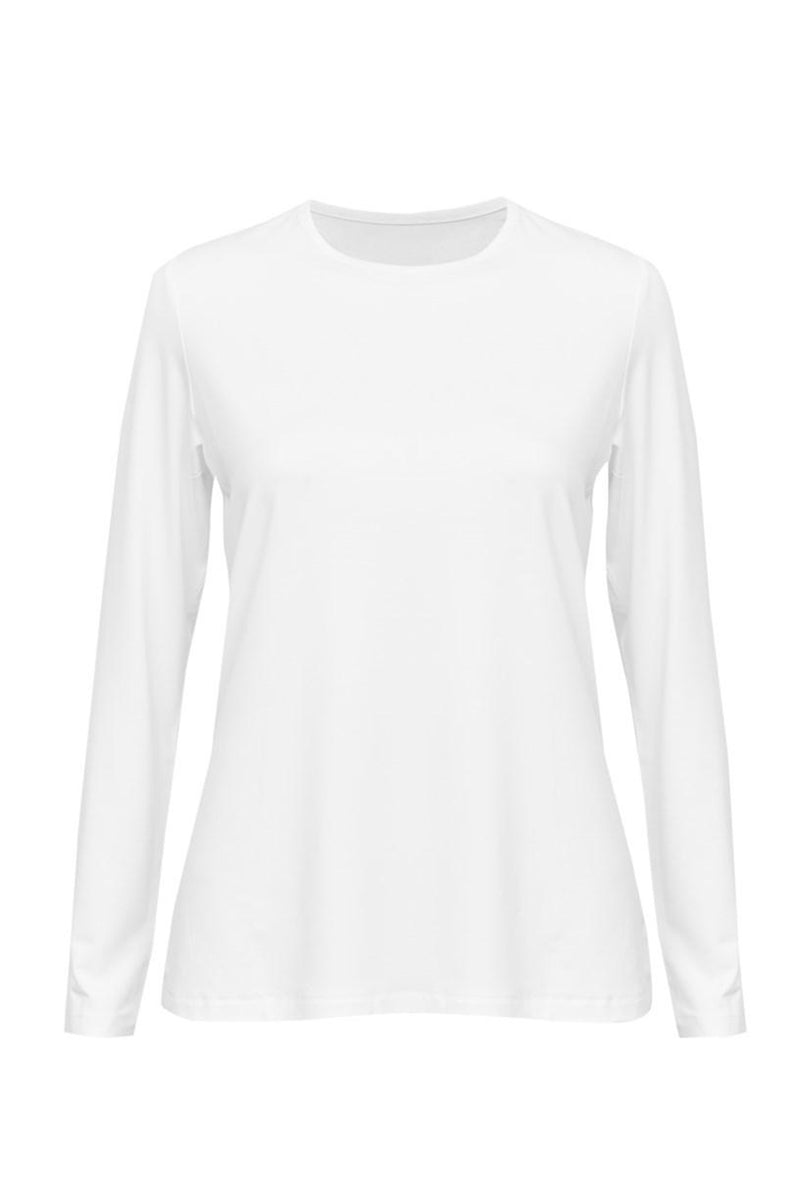 Jones Bamboo Crew Neck, White