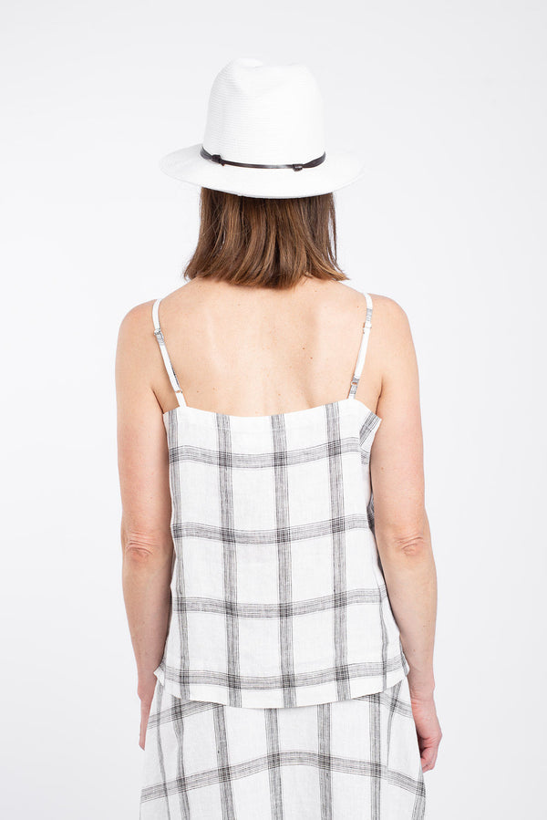 Cache Cami Top, Vanilla Check
