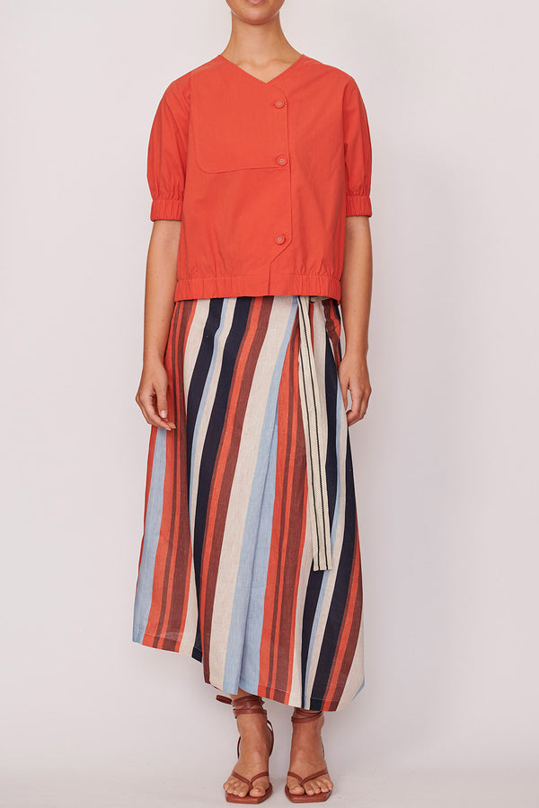 Shutter Stripe Skirt