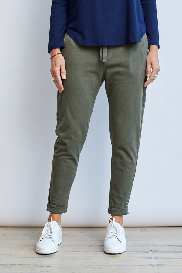 Relaxed Roll Up Pant '20, Khaki