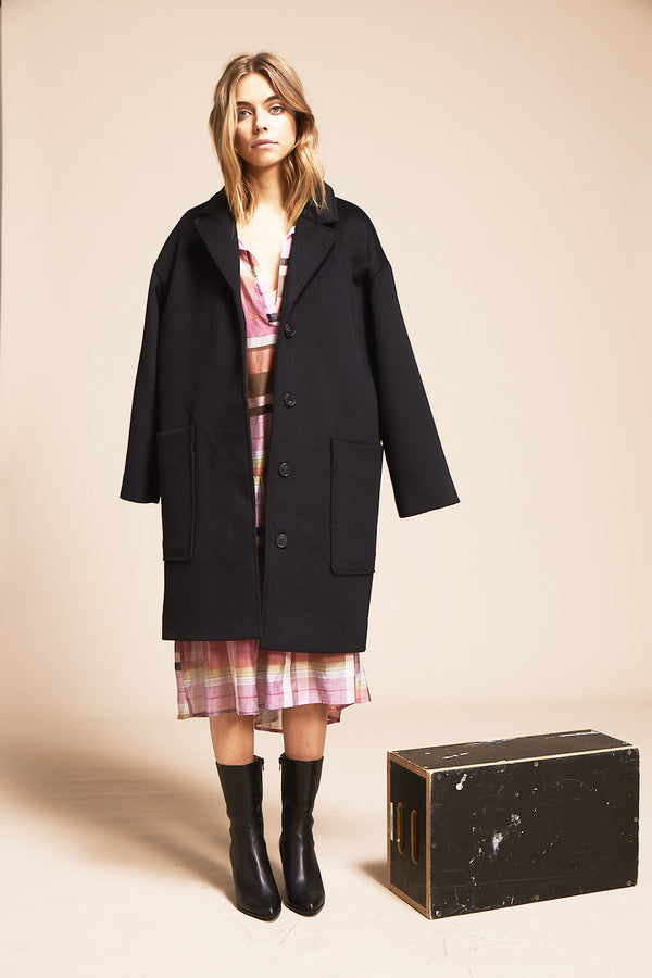 Bower Coat, Black