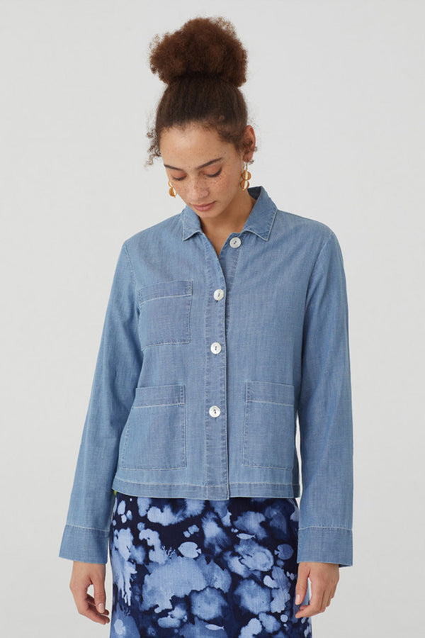 Denim Pocket Jacket