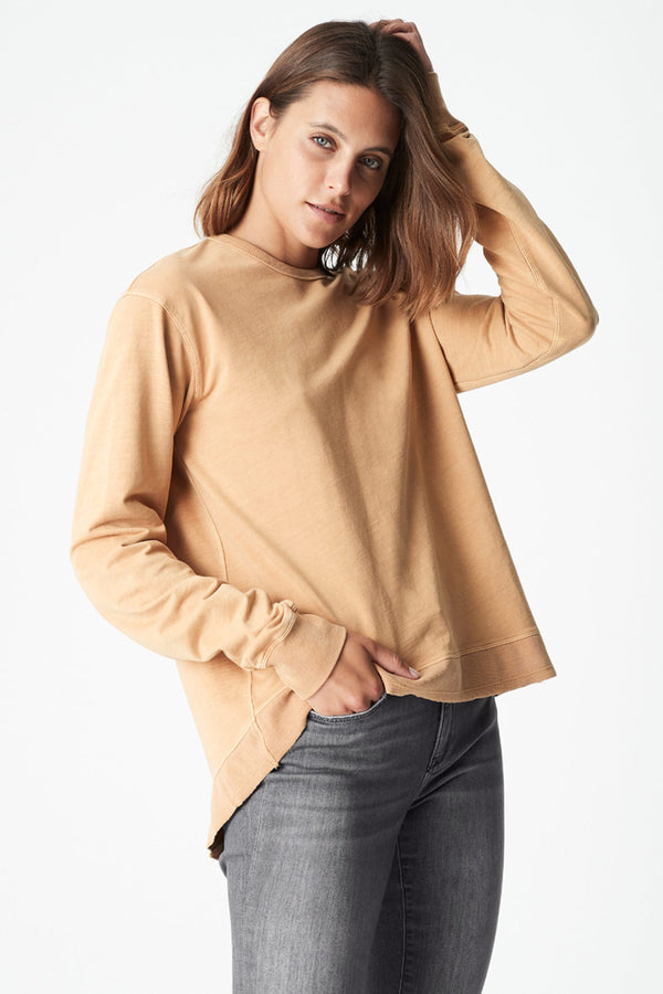 Dylan Sweat Top, Caramel