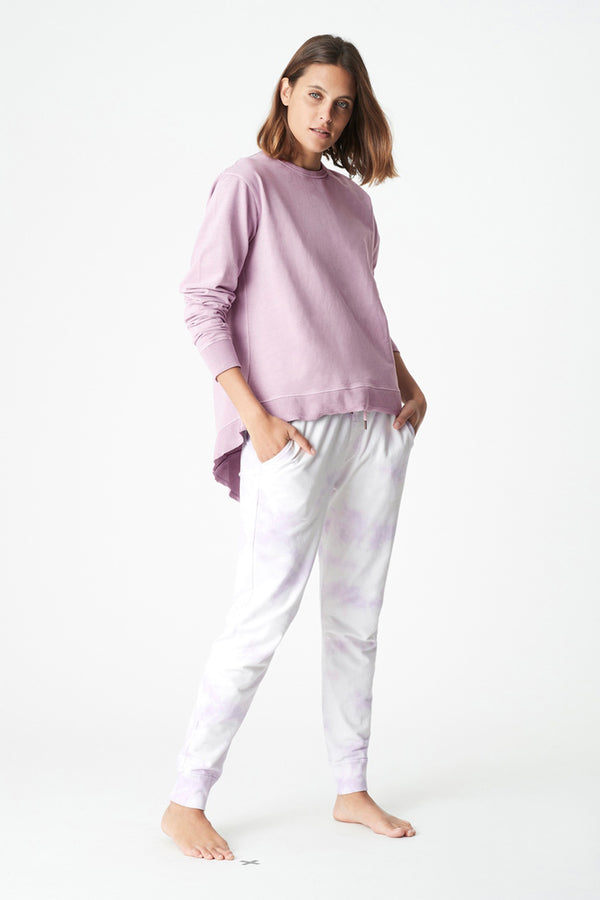 Dylan Sweat Top, Lilac