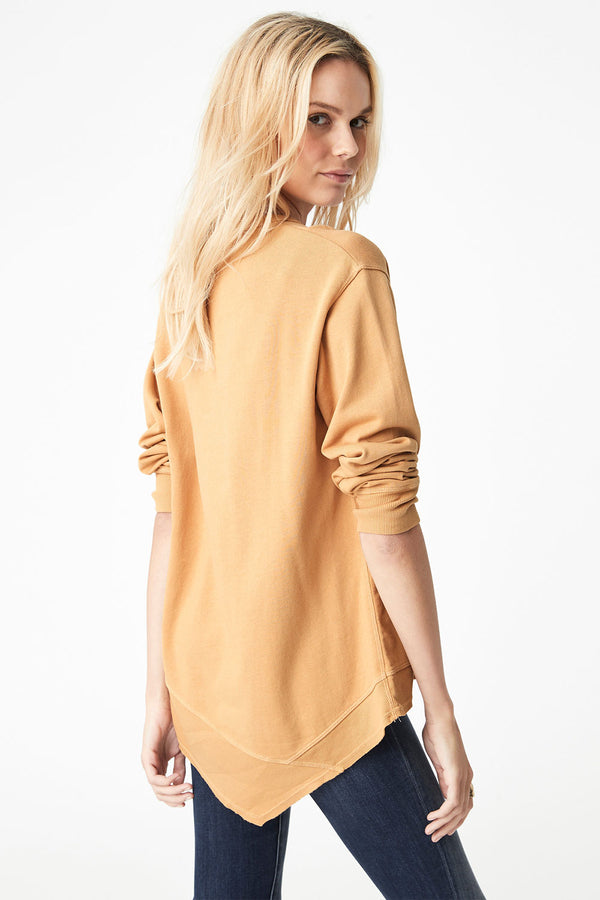 Dylan Sweat Top, Marigold