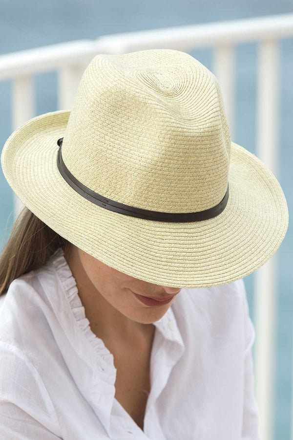 Foldable Borsolino Hat, Mastic-Putty