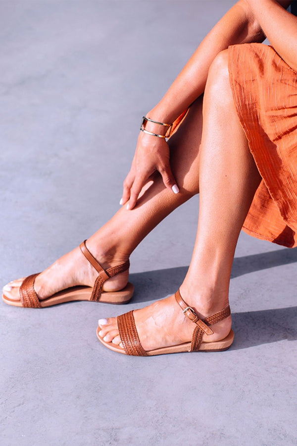 Jane Sandal, Tan