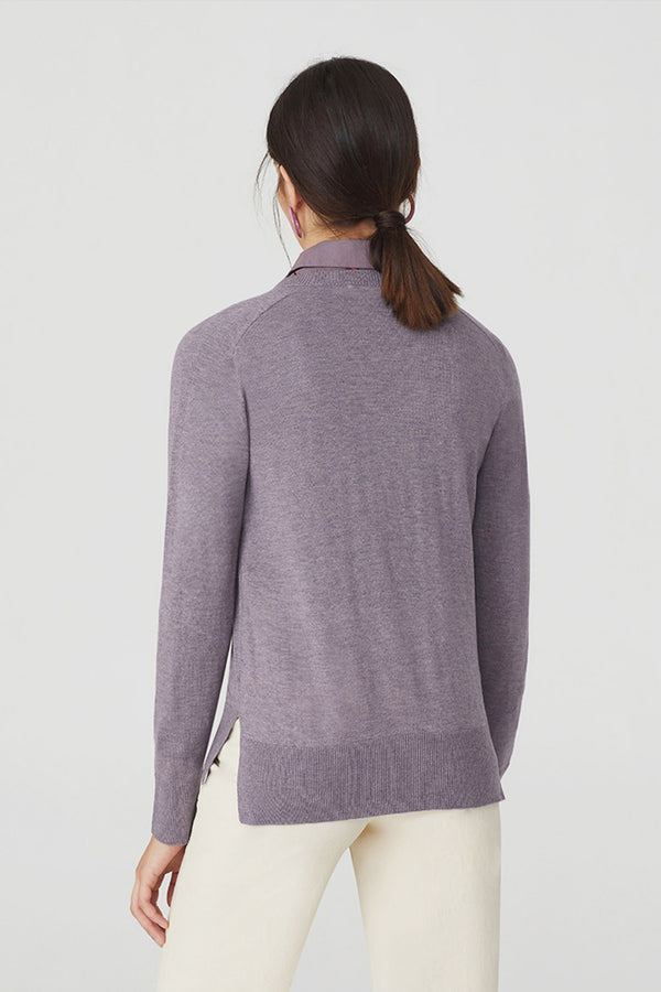 Gazelle Sweater, Mauve
