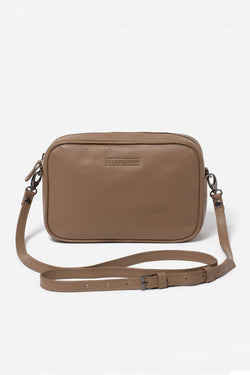 Taylor Cross-Body Bag, Oak