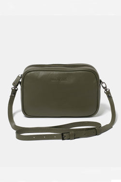 Taylor Cross-Body Bag, Olive