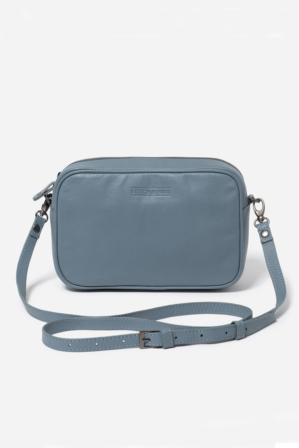Taylor Cross-Body Bag, Storm Blue