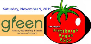 Green at the Original Pittsburgh Vegan Expo & Convention on November 9th