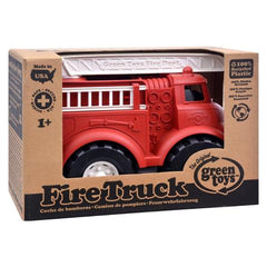 Recycled Fire Truck Toy for Kids