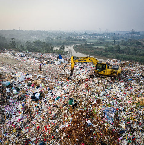 Landfill; Photo by Tom Fisk from Pexels