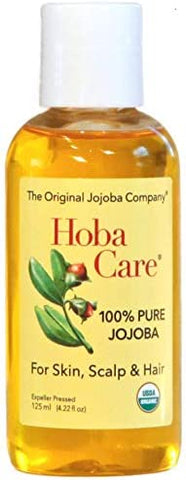 Hoba Care Pure Jojoba- 125 ml. bottle