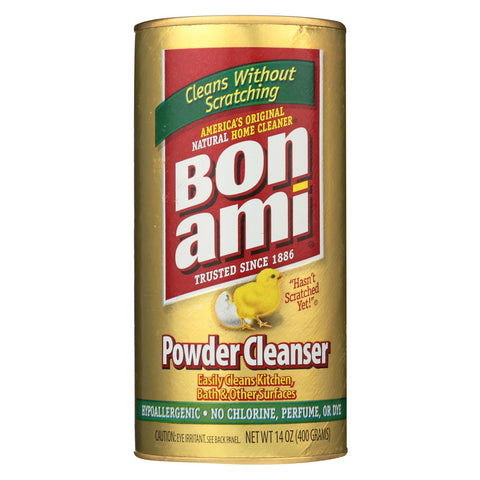 Bon Ami - Powder Cleanser - Kitchen And Bath - 14 Oz