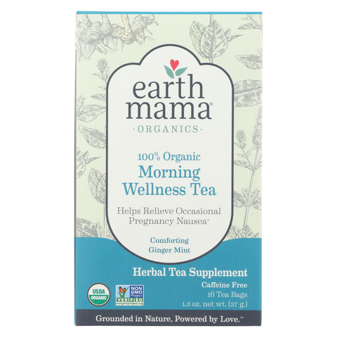 Earth Mama - Baby Morning Wellness Tea - 16 Tea Bags