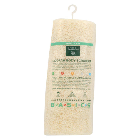 Earth Therapeutics Loofah Body Scrubber - 1 Loofah