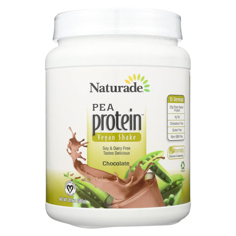 Naturade Pea Protein - Chocolate - Jug - 20.63 Oz