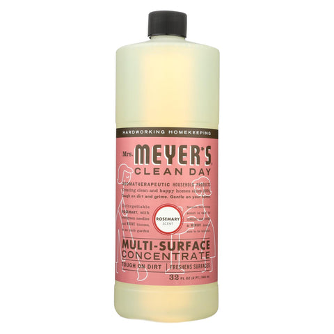 Mrs. Meyer's Clean Day - Multi Surface Concentrate - Rosemary - 32 Fl Oz