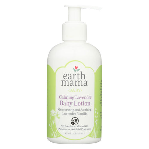Earth Mama - Baby Lotion - Calming Lavender - 8 Oz