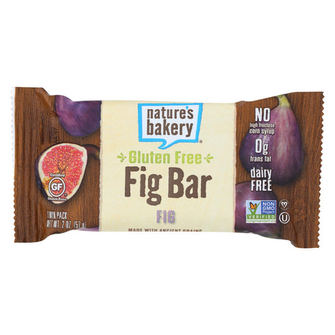 Nature's Bakery Gluten Free Fig Bar - Original - Case Of 12 - 2 Oz.