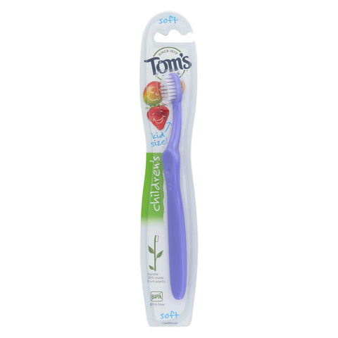Tom's Of Maine Children's Toothbrush - Dye-free - Case Of 6 - 1 Count