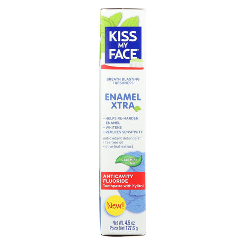Kiss My Face Enamel Extra Toothpaste - 4.5 Oz.