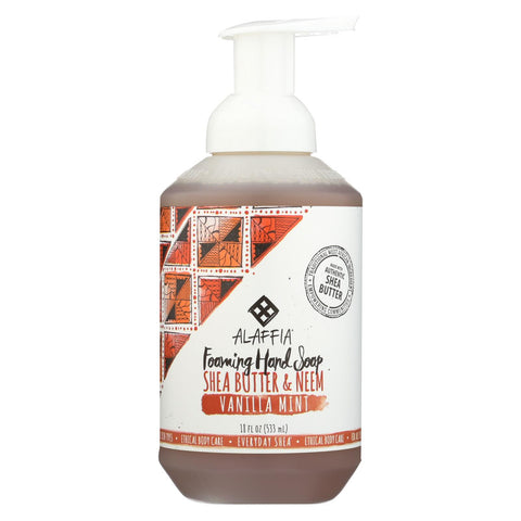 Alaffia - Everyday Foaming Hand Soap - Vanilla Mint - 18 Fl Oz.