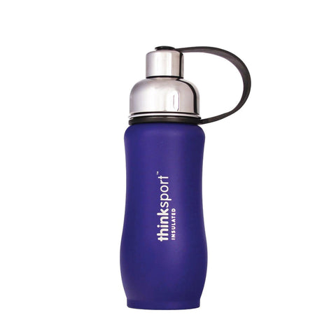Thinksport 12oz(350ml) Insulated Sports Bottle - Blue