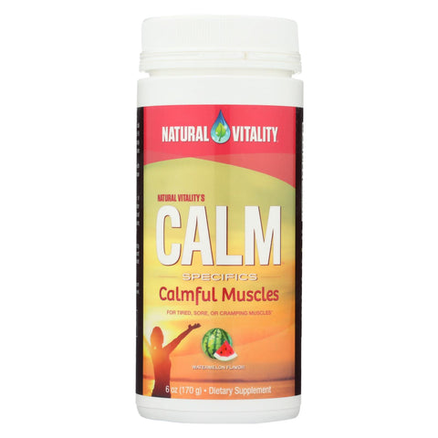 Natural Vitality Calmful Muscles - Watermelon - 6 Oz