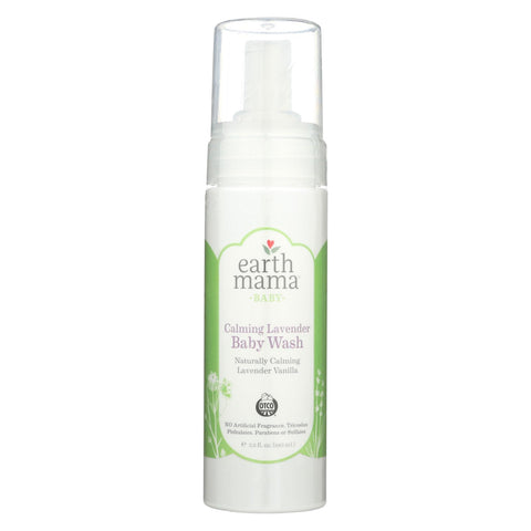 Earth Mama - Baby Wash - Calming Lavender - 5.3 Fl Oz.