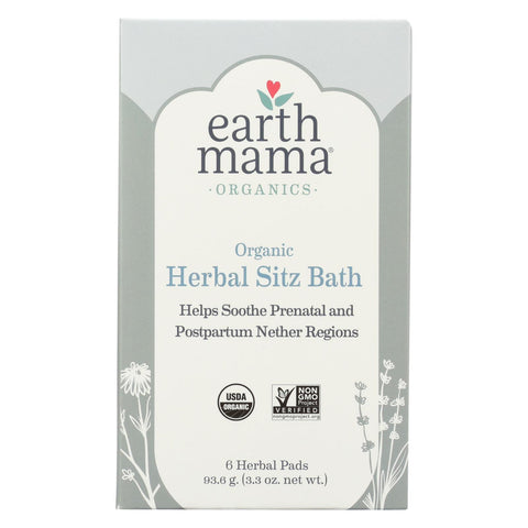 Earth Mama - Organic Tea - Herbal Sitz Bath - 6 Count