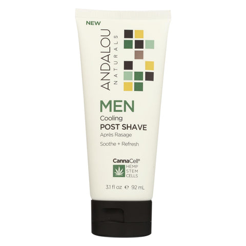 Andalou Naturals - Men Cooling Post Shave - 3.1 Fl Oz.